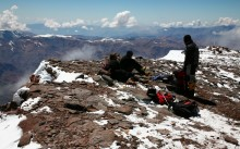 Our Team on the Summit of Aconcagua