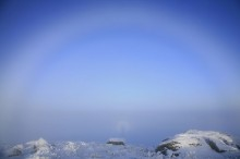 haze, rings, halo, around, person, photographer, Algonquin, Adirondacks