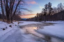 Ausable River,AuSable River,Upper Jay,East Branch Ausable river,winter,river,
