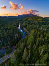 River Road,River Rd,River Rd Lodge,Ausable River,Whiteface Mt,rural,county,road,winding,scenic byway,Adirondack,