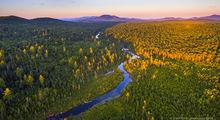 Big Brook,drone,aerial,Kempshall Mt,Long Lake,summer,