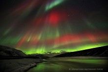 red aurora borealis,red auroras,aurora borealis,Iceland,aurora borealis Iceland,red, northern lights,spectacular,rare,Bl
