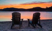 Adirondack Chairs,Blue Mountain Lake,summer,sunset,2015,ADK chairs,Adirondacks,Adirondack Park,