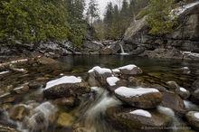 Boquet River North Fork April snowstorm