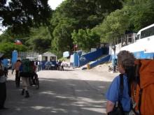 Sketchy border crossing into Haiti