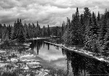 Boreas River,November,snow dusting,snow,early winter,winter,Adirondacks,Adirondack river,