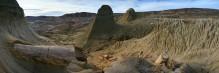 Bosque Petrificado, Reserva Natural, petrified forest, Patagonia, Sarmiento, petrified wood, petrified log, erosion