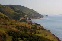 Cape Bretton Highlands, coast, road, national Park