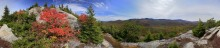 Catamount Mt,Whiteface Mt,Catamount,Whiteface,fall,summit,panorama