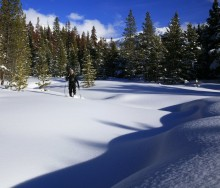Max Anderson, snowshoeing, Winter Park, Colorado, Continental Divide, outdoor, winter, recreation, deep, snow, snowy, da