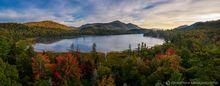 Connery Pond,Whiteface Mt,Whiteface,drone,aerial,2019,autumn,morning,fog,sunrise,Adirondacks,Adirondack Park,landscape,photography,Johnathan Esper,pond,lakes,Wilmington Notch,