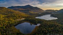Connery Pond,Whiteface Mt,Whiteface,drone,aerial,2019,autumn,morning,fog,sunrise,Adirondacks,Adirondack Park,landscape,photography,Johnathan Esper,ponds,lakes,Wilmington Notch
