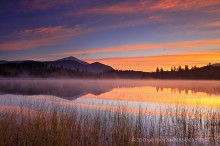 Connery Pond and Whiteface Mt sunrise