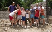 short-term mission, mission trip, short term mission trip, Christian, service, Dominican Republic, building,