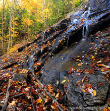 Death Brook Falls,Raquette Lake,fall,2013