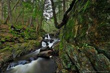 East Jimmy Creek Falls near the East Branch Sacandaga River