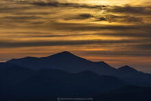 Annular Solar Eclipse rising over Whiteface Mt from Ampersand Mt 10 June 2021