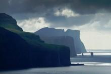 Faroe Islands, seen from Kalsoy