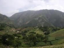 Pic de la Selle above Jeantilhome