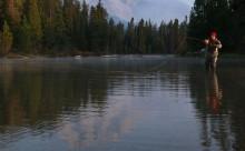 Flyfishing in Wyoming