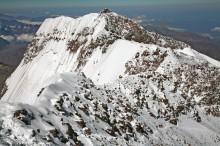 Cumbre Sur of Aconcagua from Summit