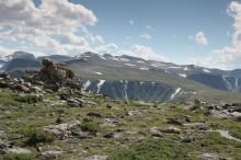 Granite Peak beyond FrozetoDeath Plateau