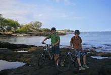 Anaeho'omalu Bay, starting, sea to summit, Mauna Kea, Hawaii