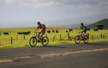 biking, sea to summit, Mauna Kea, Hawaii, riding, up, Saddle Road, highpoint, adventure