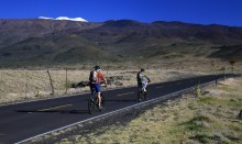 biking, sea to summit, Mauna Kea, Hawaii, riding, up, Summit Road, highpoint, adventure, bicycling