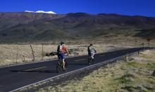 biking, sea to summit, Mauna Kea, Hawaii, riding, up, Summit Road, highpoint, adventure, bicycling