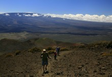 biking, sea to summit, Mauna Kea, Hawaii, riding, up, Saddle Road, highpoint, adventure, Mauna Loa, hiking, trail