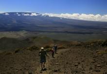biking, sea to summit, Mauna Kea, Hawaii, riding, up, Saddle Road, highpoint, adventure, Mauna Loa, hiking, trail