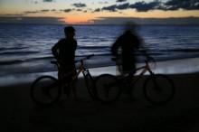 Spencer Beach, sea to summit, finish, Mauna Kea, HAwaii