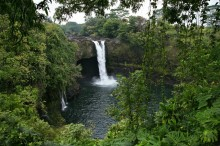 Rainbow Falls, waterfall, Hawaii, Hilo