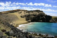 Green Sand Beach, Hawaii, green, sand, beach, secluded