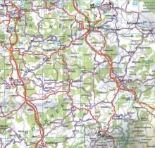 Signal de Botrange Belgium Highpoint Map