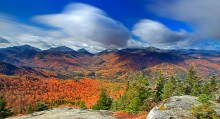 Hopkins Mt,High Peaks,Adirondack High Peaks,autumn snowfall,season,snowfall,autumn,2012,long exposure,Adirondack Life,fi