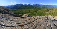 Adirondack, High Peaks, Mount Marcy, Cascade Peak, Hurricane Mt, Hurricane Mountain, granite, bedrock, glaciated, glacia