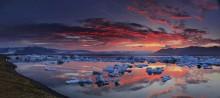 Jokulsarlon,Iceland,Jokulsarlon Iceland,lagoon,glacier,sunset,icebergs
