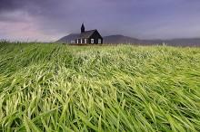 Icelandic country church at Budir
