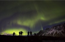 Photographing the Auroras