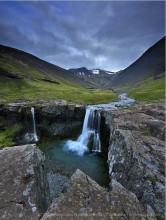 Eastfjords Waterfall