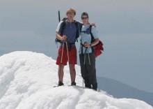Jonathan Nace and me, Ngauruhoe summit