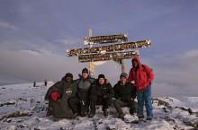 Kilimanjaro Summit group photo