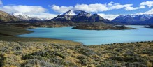 Lago Belgrano, Perito Moreno National Park, panorama, torquoise, lake, remote, wilderness, Patagonia