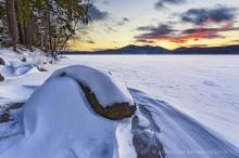 Lake Eaton,Nautilaus,rock,winter,snow drift,snow drifts,Lake Eaton Nautilaus Rock snow drifts,2015