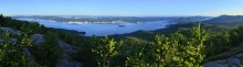 Lake George,panorama,summer,Buck Mt.,Buck Mountain,Lake George Wild Forest,Adirondacks,Adirondack Park,sunrise,calm,flow