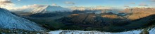 Lake Wanaka,New Zealand,Southern Alps,panorama,Wanaka,