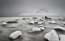 Lofoten Norway snow storms