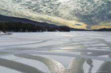 Long Lake,ice patterns,lake,ice,abstract,cracks,stripes,